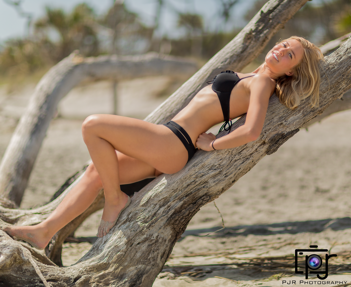 Cristen Swimsuit Shoot by Perry Robinson