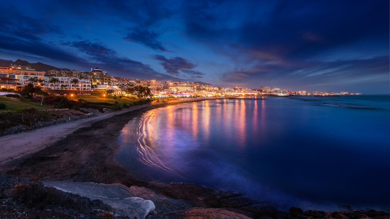 Tenerife blue hour by Muhammad Al-Qatam