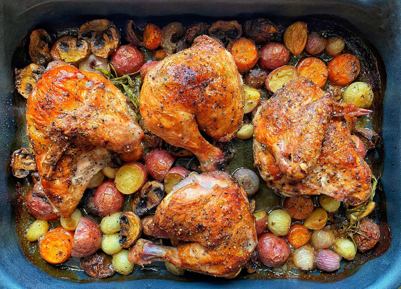 8 hours Chicken by Muhammad Al-Qatam