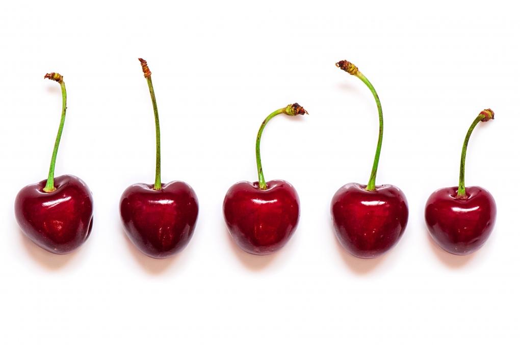 Five Cherries by Muhammad Al-Qatam