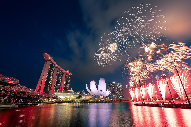Happy 54 years Singapore by Muhammad Al-Qatam