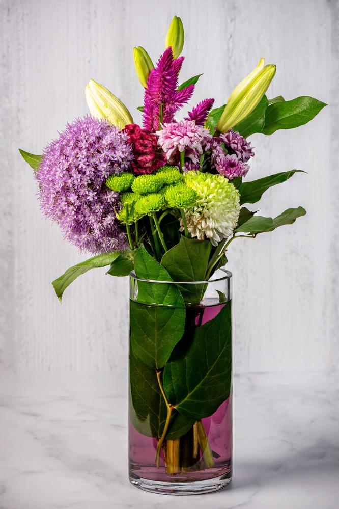 Flowers by Muhammad Al-Qatam