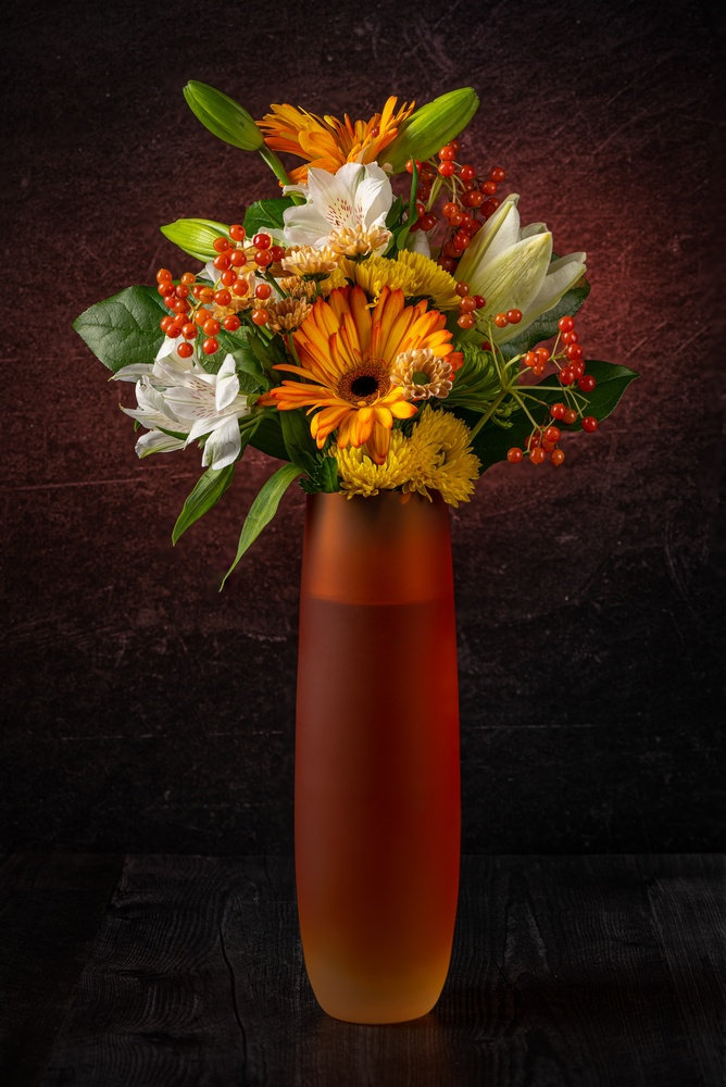Autumn arrangement by Muhammad Al-Qatam