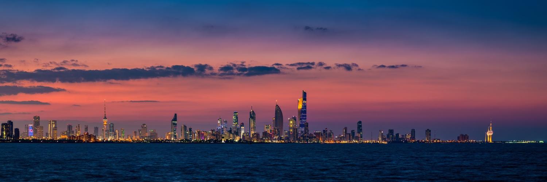 Kuwait City by Muhammad Al-Qatam