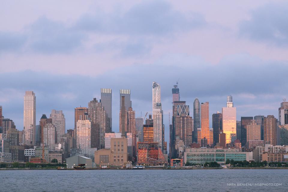 Manhattan Skyline by Mark Bienvenu