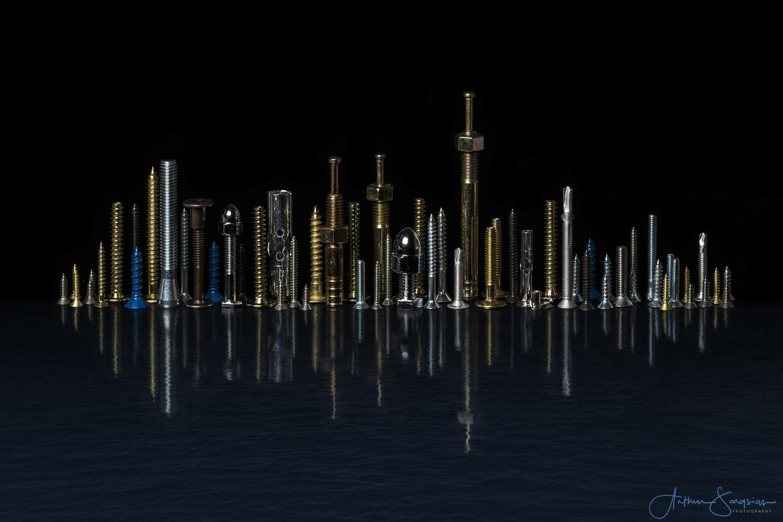 New York Skyline by Arthur Sargsian