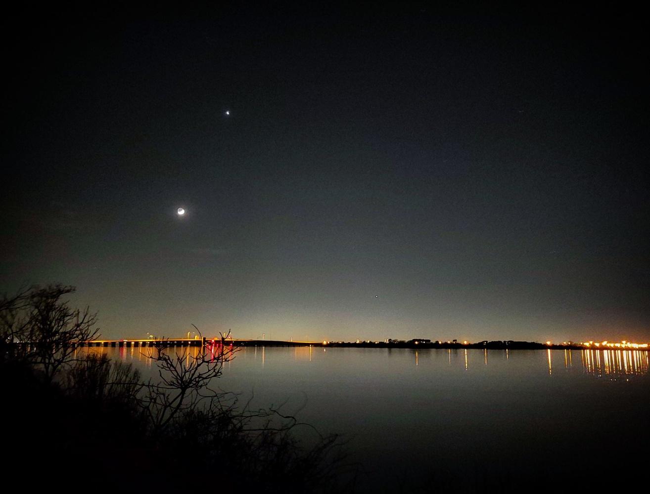 Moon Under Venus by Rick DeLucia