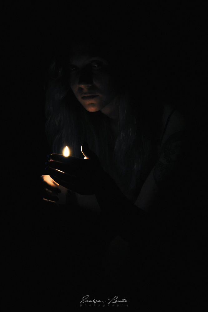 In the darkness by Emerson Lovato