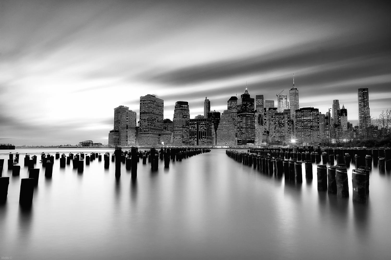 Dusk at Brooklyn by Wix Mo