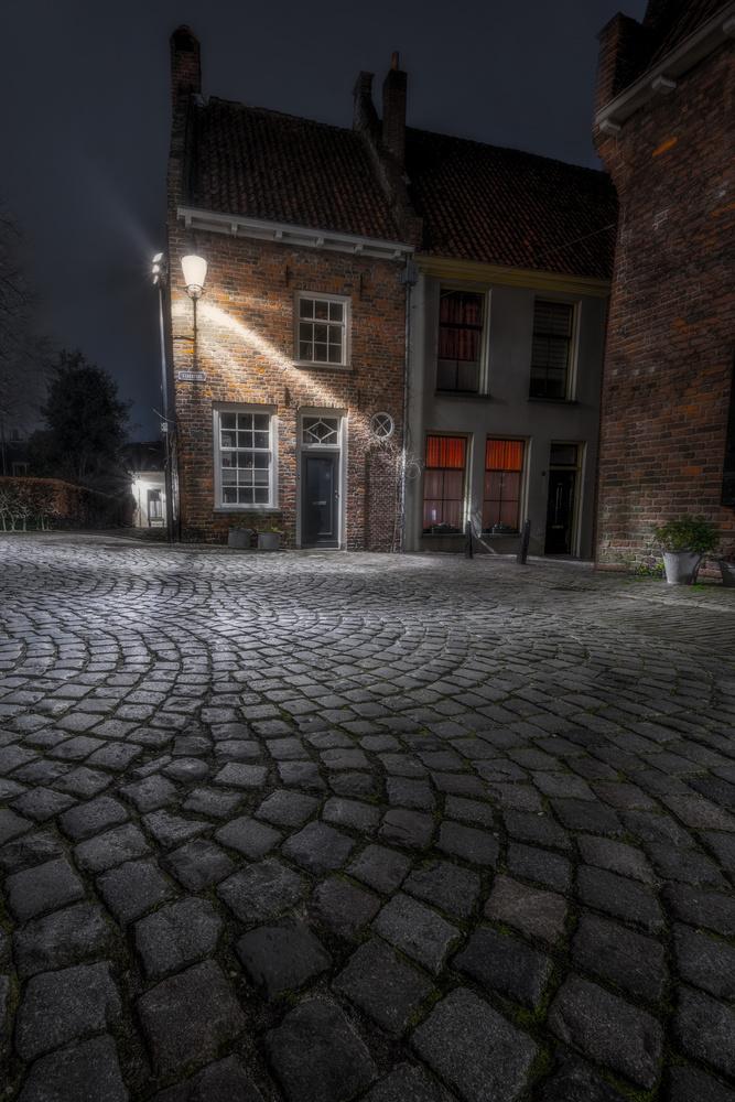 A lonely street by Matthijs Bettman