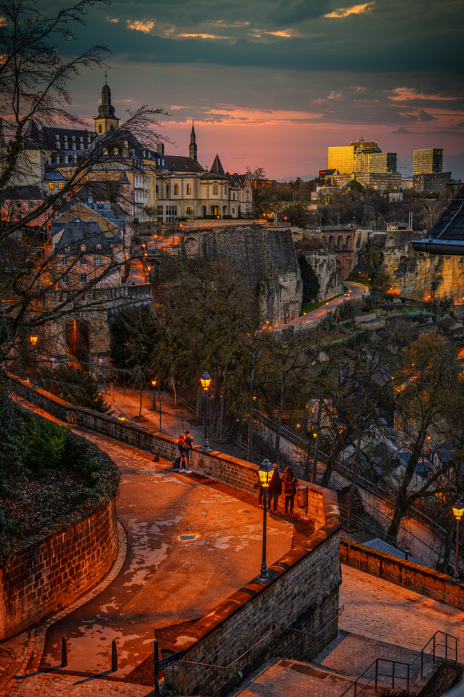 a couple in luxembourg by Matthijs Bettman