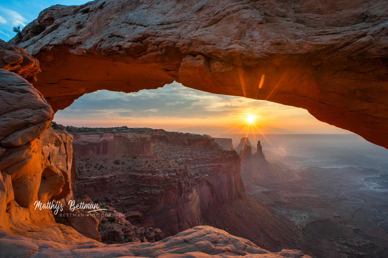 Mesa Arch by Matthijs Bettman