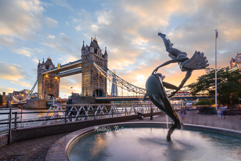 The tower bridge by Matthijs Bettman