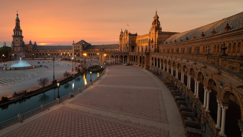 Plaza de Espana by Matthijs Bettman