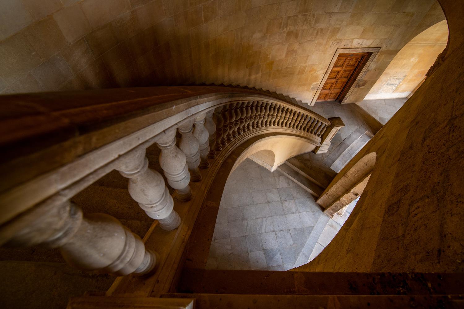Just stairs by Matthijs Bettman