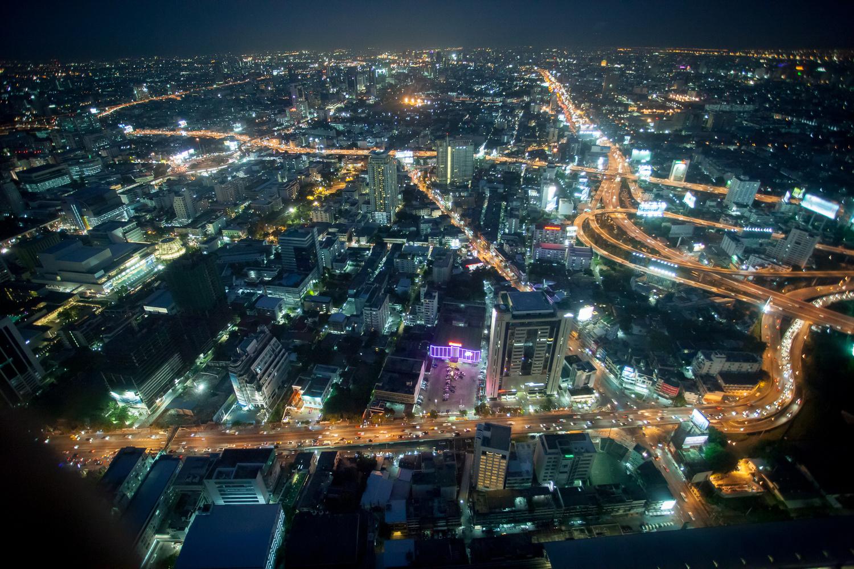 Night over Bangkok by Gregor Domhan