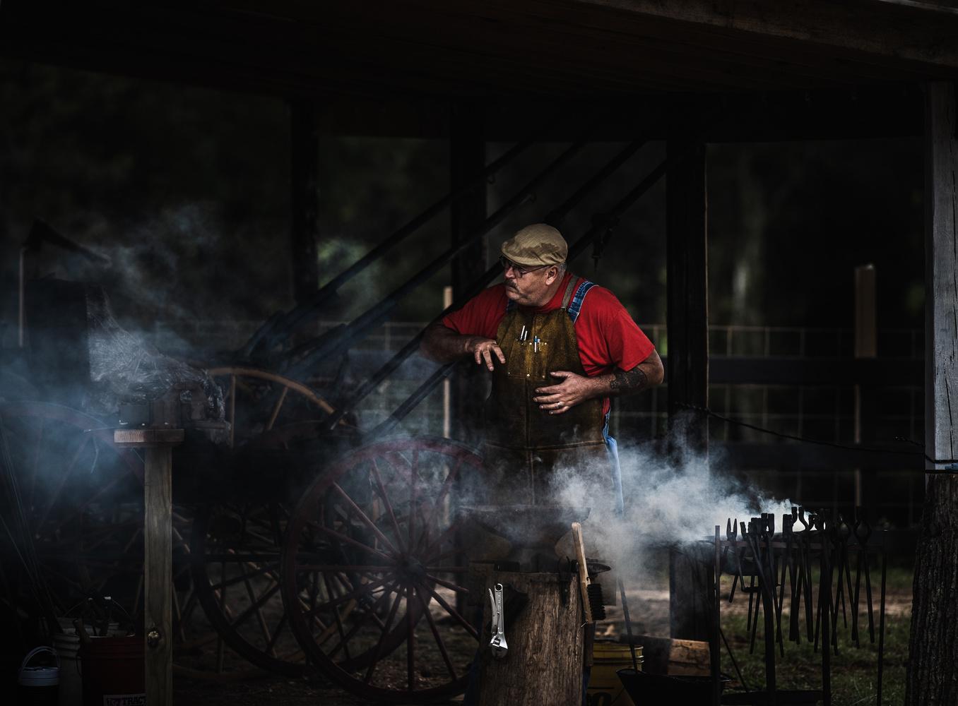 Blacksmith by William Uzzell