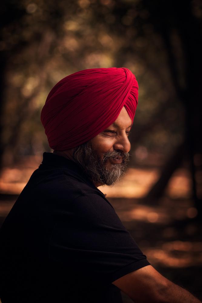 Dads portrait by Taranjeet Singh