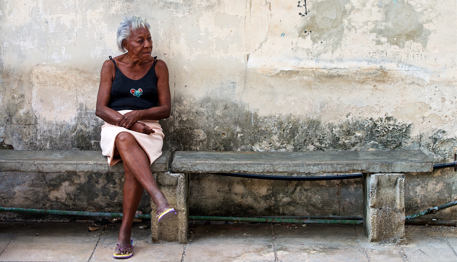 Cuban Woman by Don Campbell