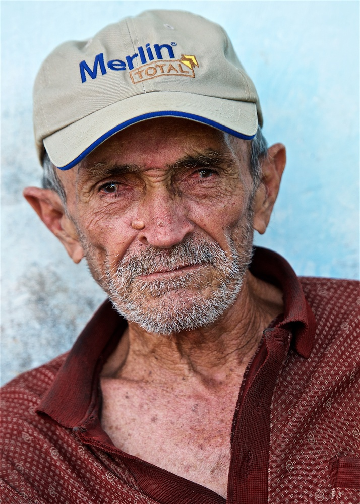 Cuban Fisherman by Don Campbell