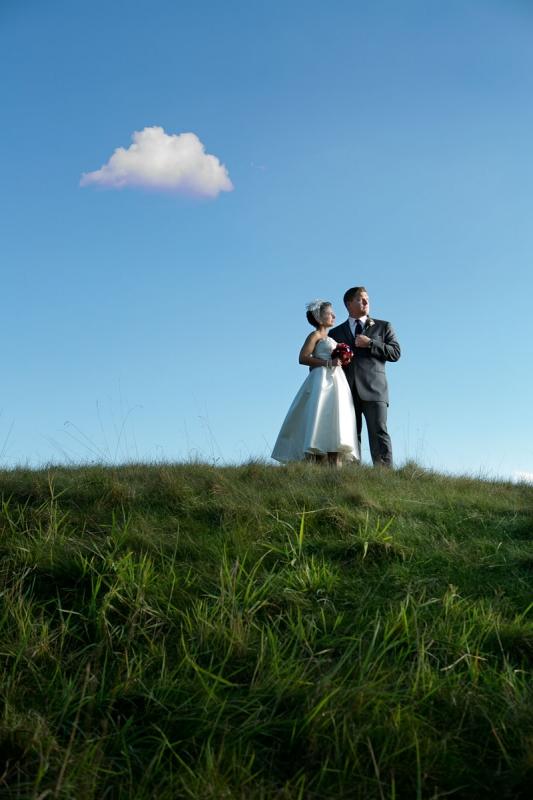 Nathan & Lauren - Wedding Portrait by Aaron Brown