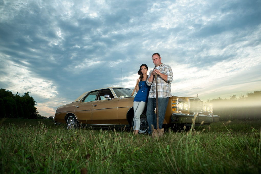 Michelle & Troy - Engagement Portrait by Aaron Brown