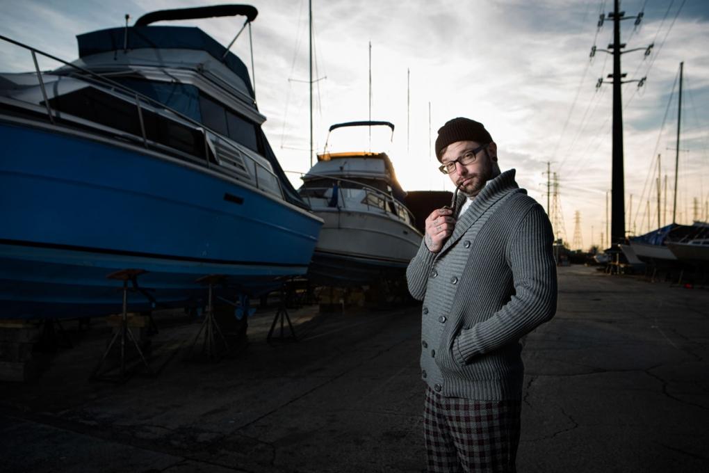Nick - Tattoo Artist | Wannabe Sea Captain by Aaron Brown