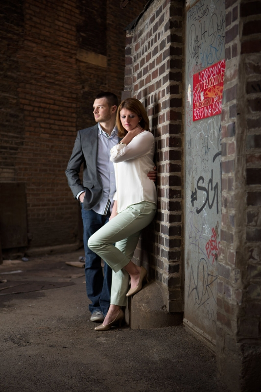 Eric & Amy - Engagement Portrait by Aaron Brown