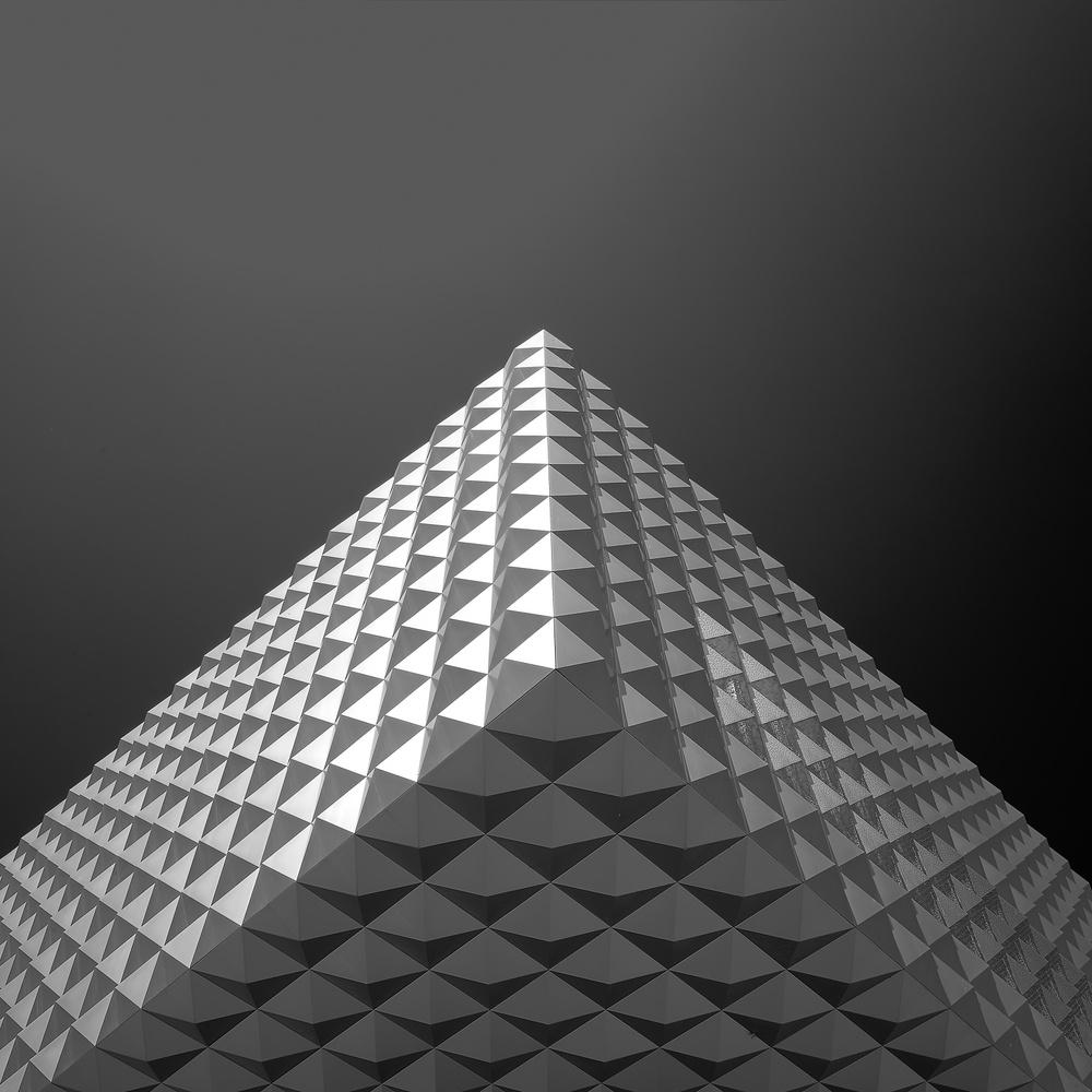 Pyramid of pyramids by Tamas Nemeth