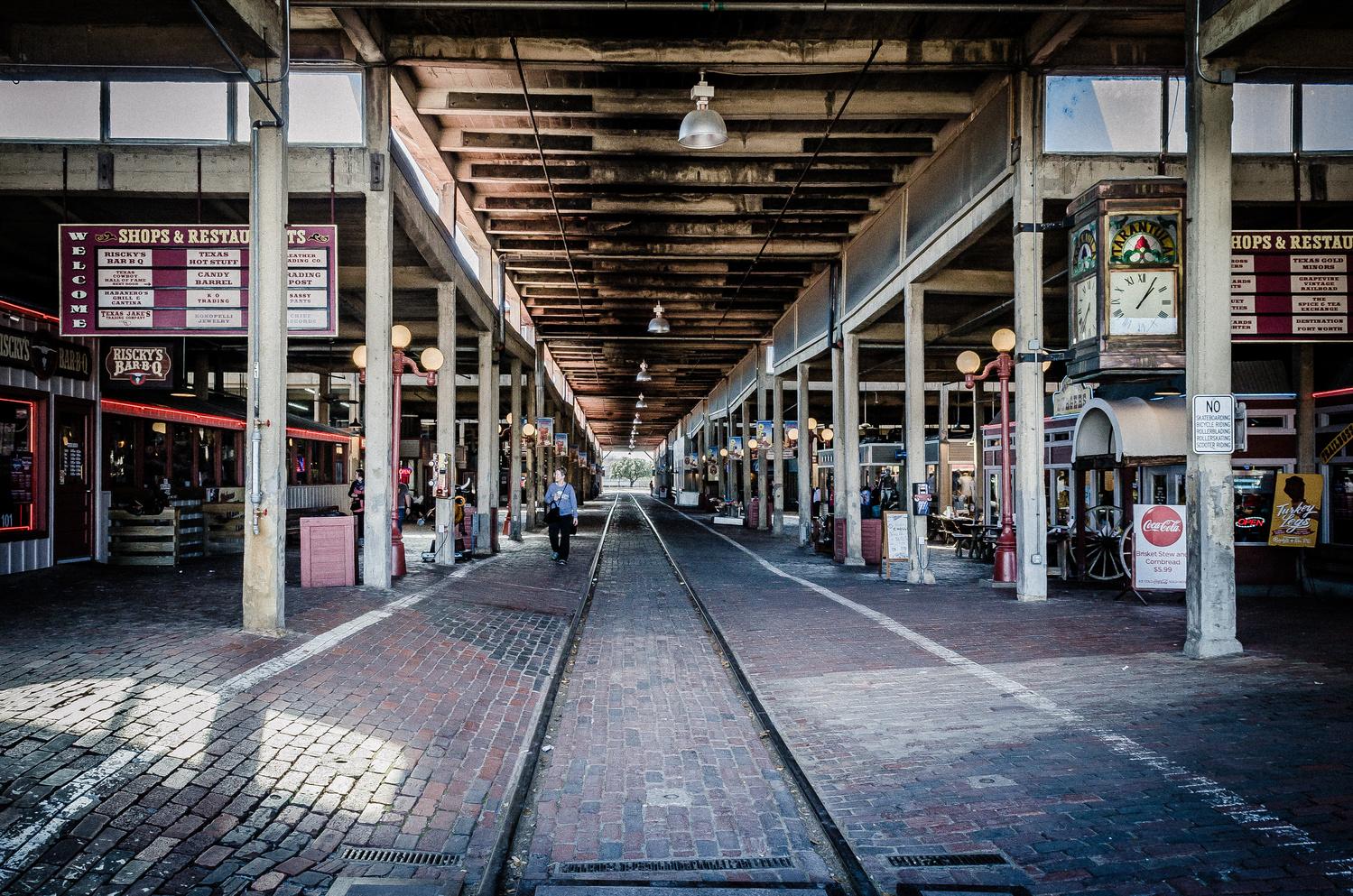 Fort Worth Stockyards Station by Roger Lorenz