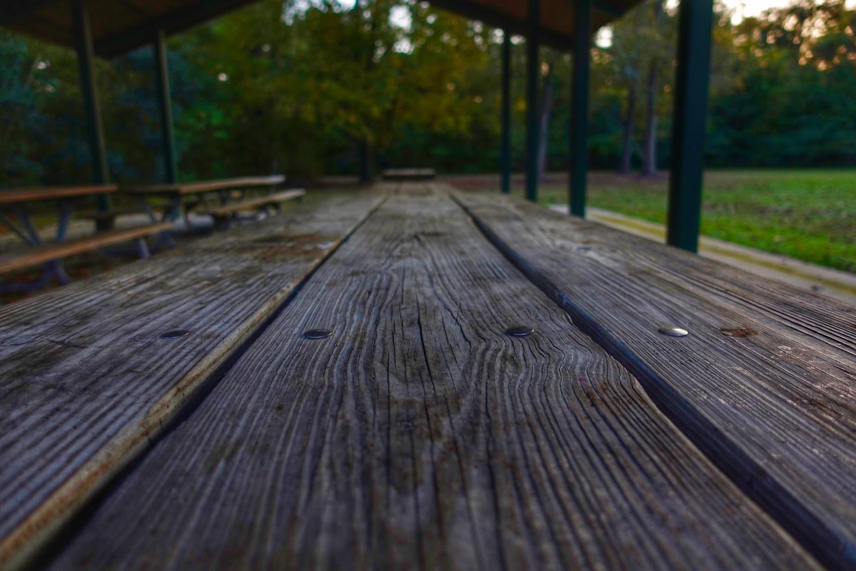 Relaxing Park Bench by Ben Barton