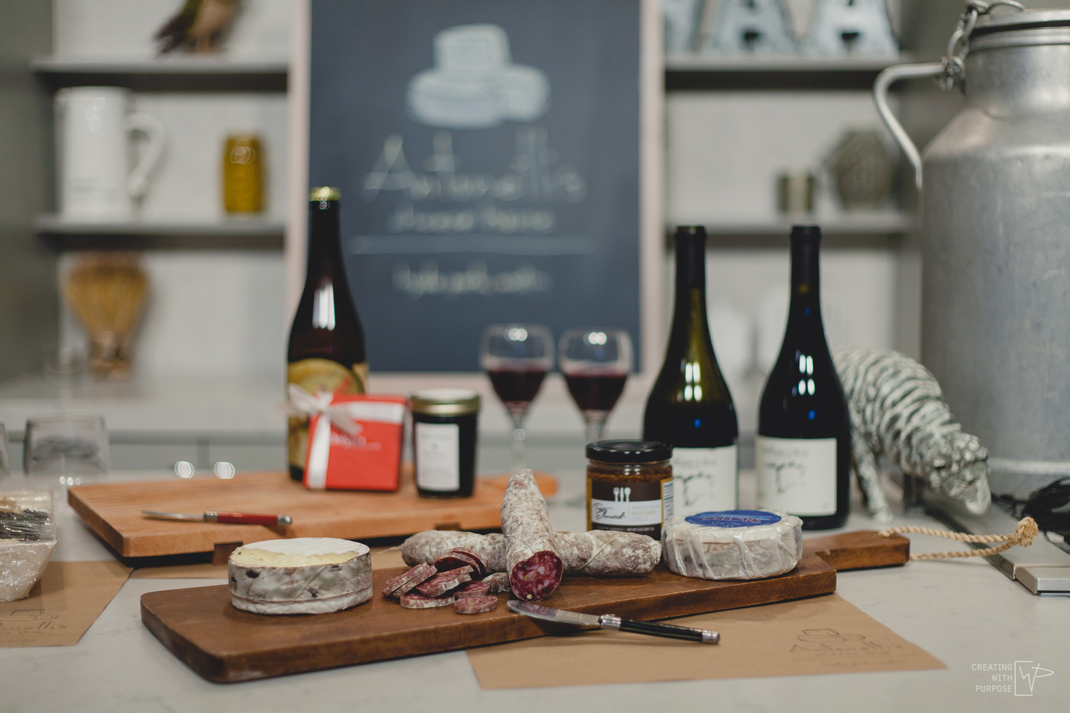Antonelli's Cheese Shop by Philip Adcock