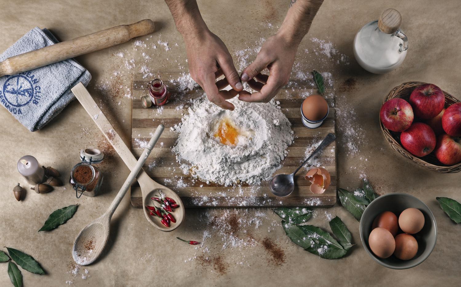 Kitchen Mass by Oleh Brevus