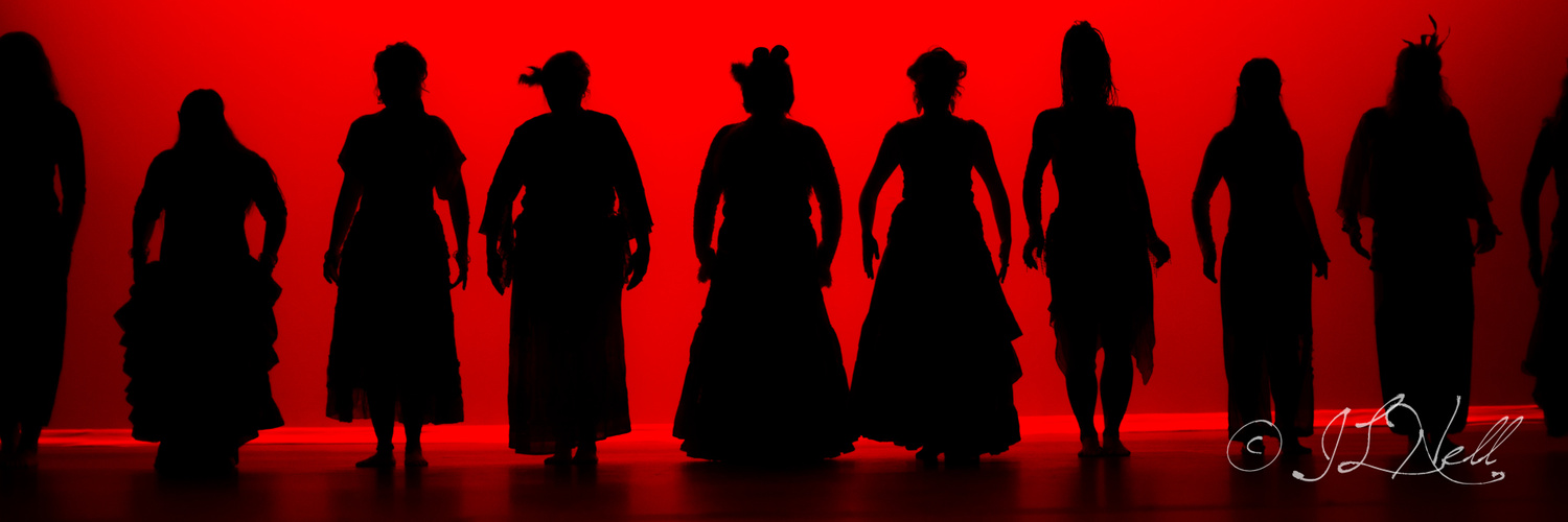 Ladies in Red by Danno Nell