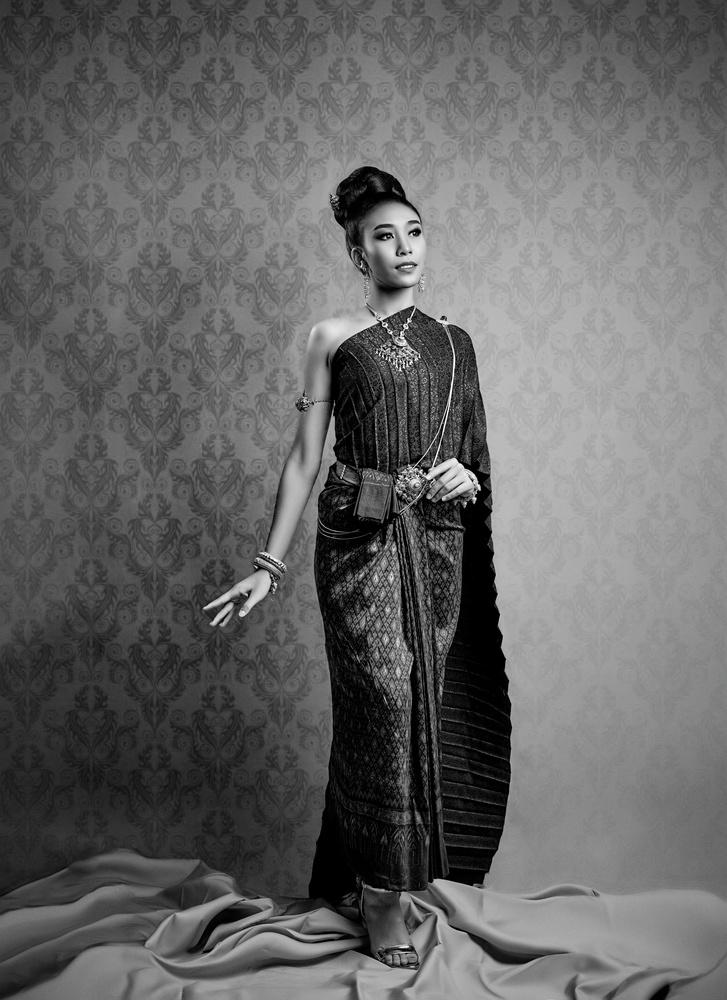 Thai Traditional Dress by David Sala