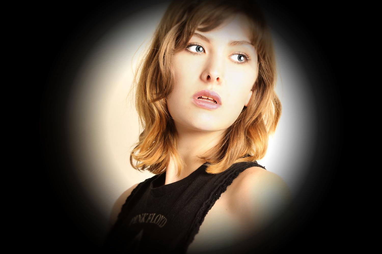 Sienna Hayes - Portrait by Donald B Wilson