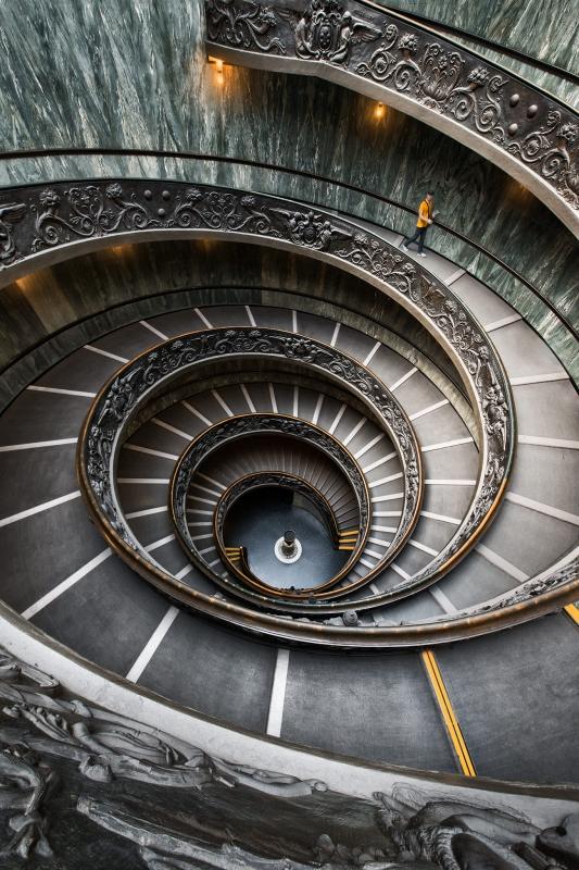 Leaving the Vatican by Michael Woloszynowicz