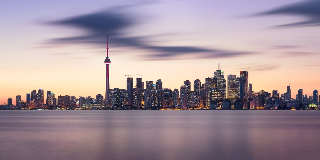 Ghosts Over Toronto by Michael Woloszynowicz