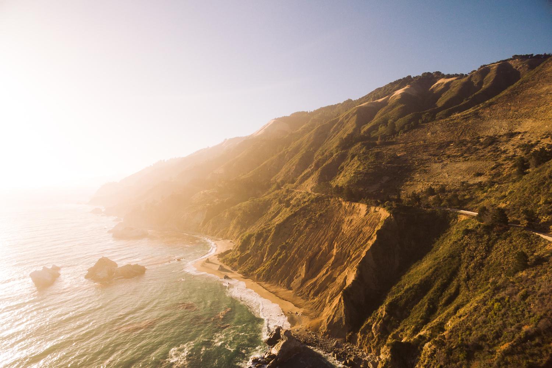 Hwy 1 Coastline by Kavin Bradner