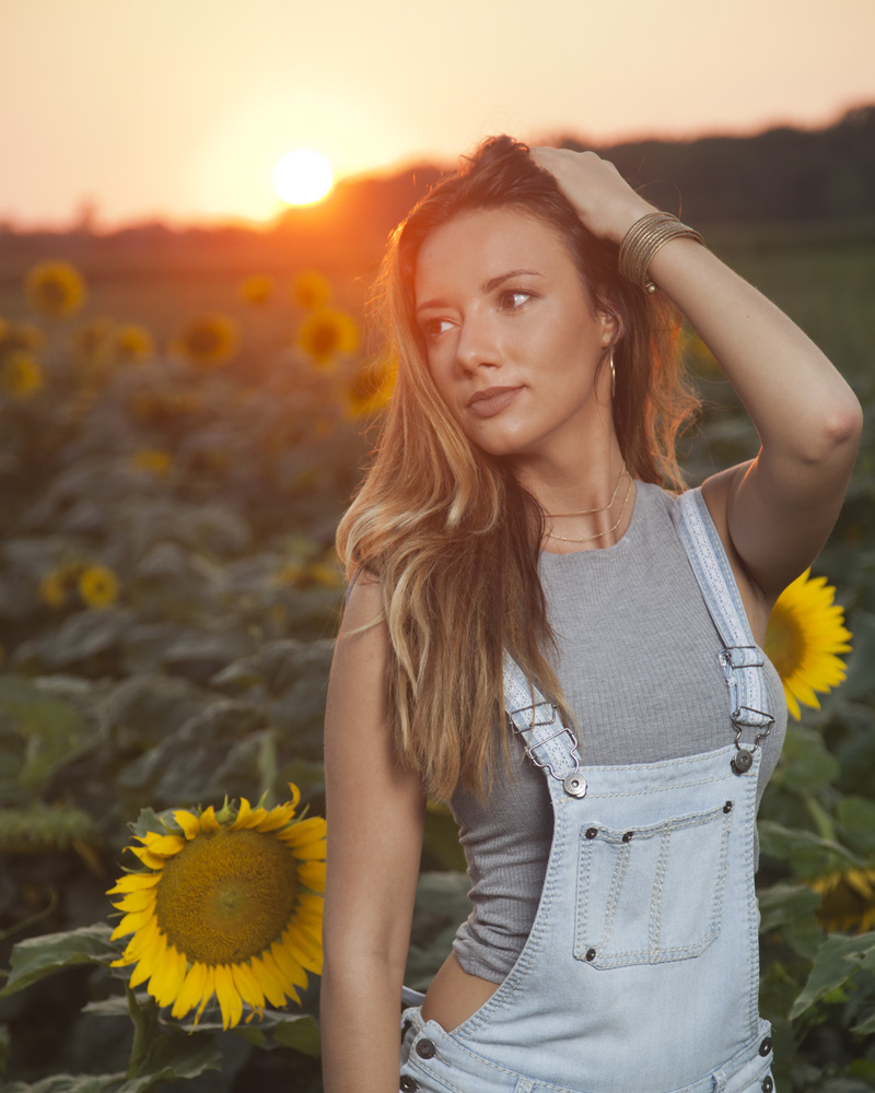Haley at Sunset by Eric Grapher