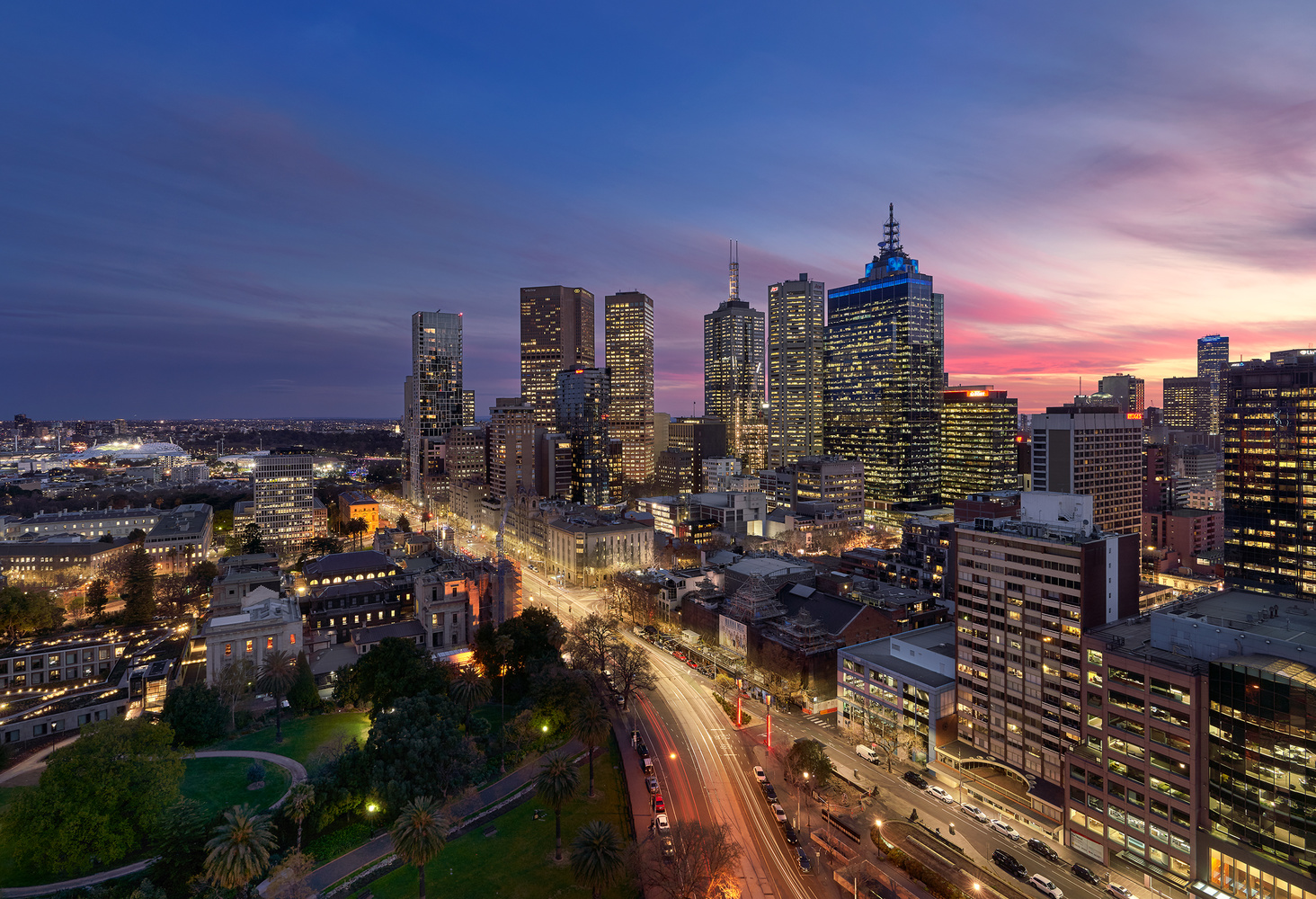 Melbourne CBD by Jason Yang