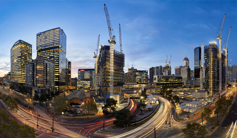 Docklands Pano by Jason Yang