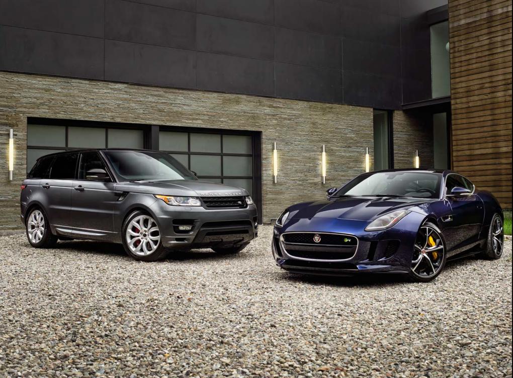 Jaguar Land Rover USA Ad Campaign by Douglas Sonders