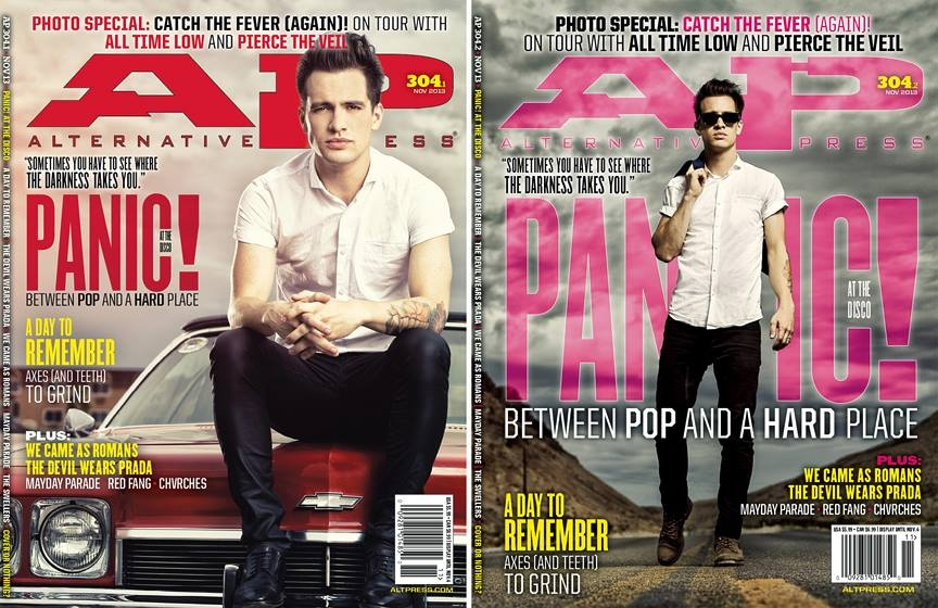 Brendon Urie AltPress Cover by Douglas Sonders