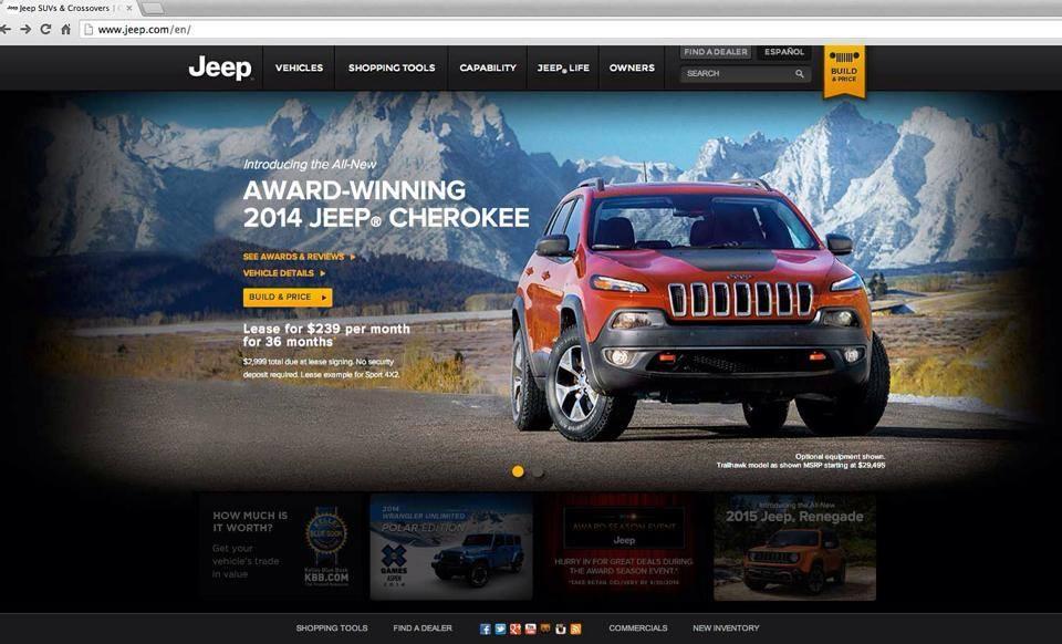 Jeep Ad Campaign by Douglas Sonders