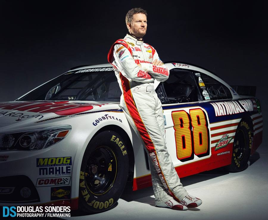 Dale Earnhardt Jr by Douglas Sonders