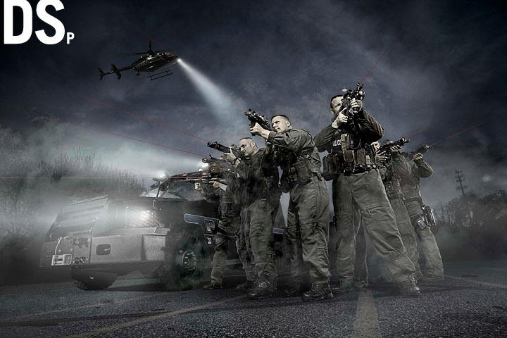 Swat Team by Douglas Sonders