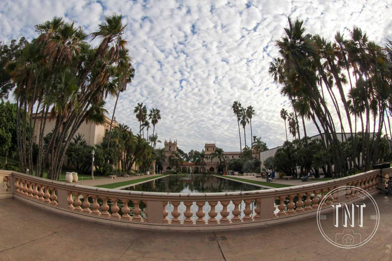 Skyscape over balboa by Taci Thompson