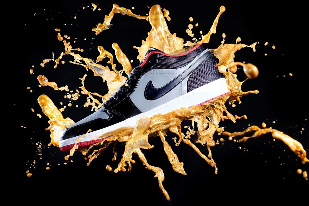 Nike Jordan 1 Splash by Laya Gerlock