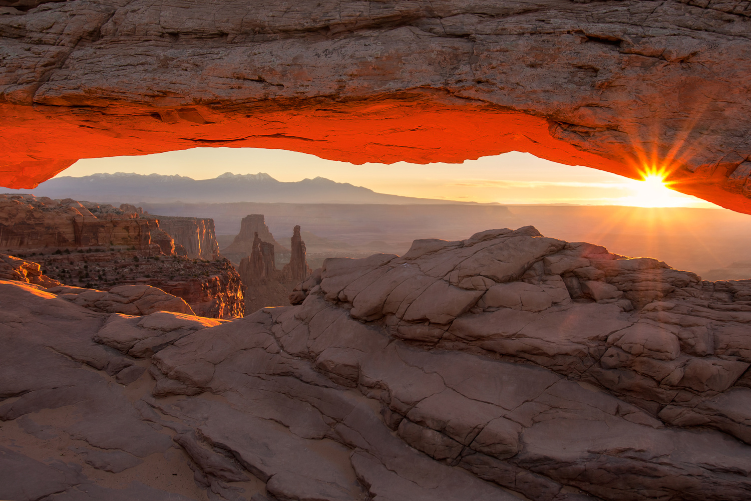 Morning Light at Mesa Arch by Nick Souvall